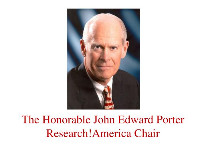 The Honorable John Edward Porter