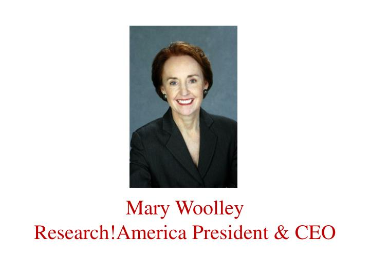 Mary Woolley
