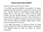 omas de expansi n