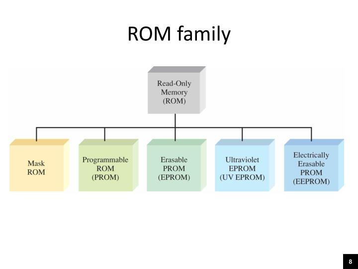 ROM family