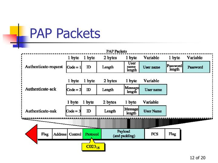 PAP Packets