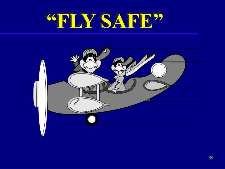 """""""FLY SAFE"""""""