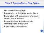 phase 1 presentation of final project