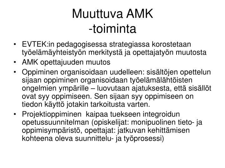 Muuttuva AMK