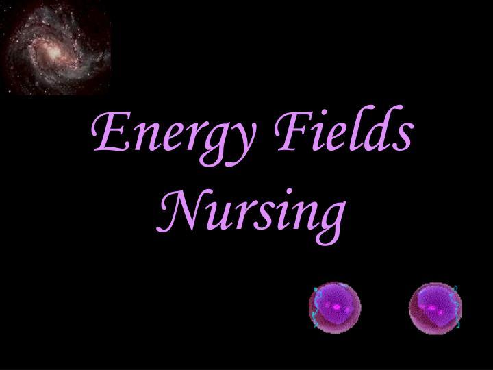 Energy Fields