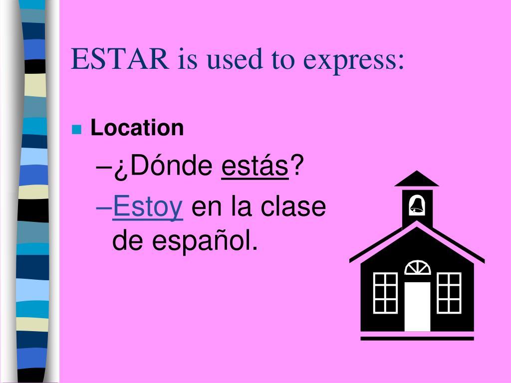 PPT - LOS VERBOS SER Y ESTAR PowerPoint Presentation, free ...