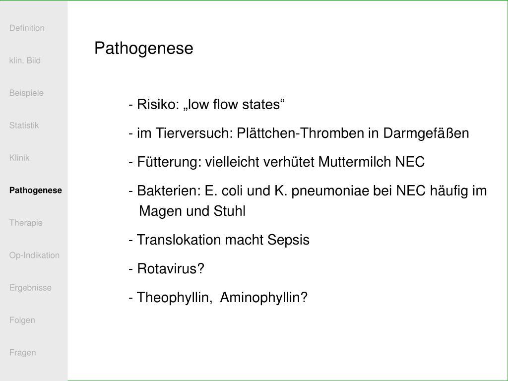 PPT - Vorlesung nekrotisierende Enterokolitis PowerPoint ...