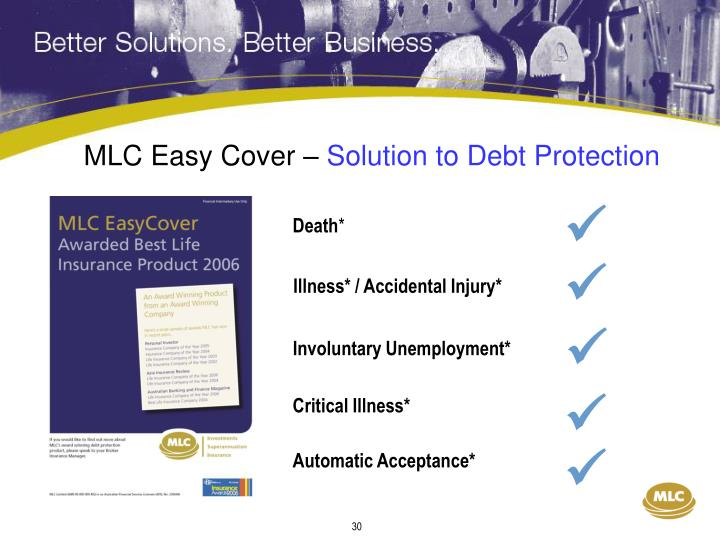 MLC Easy Cover –