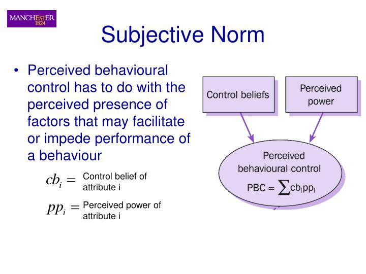 Subjective Norm