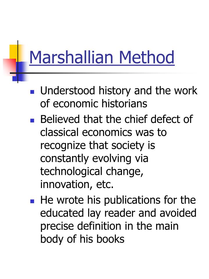 marshallian definition of economics
