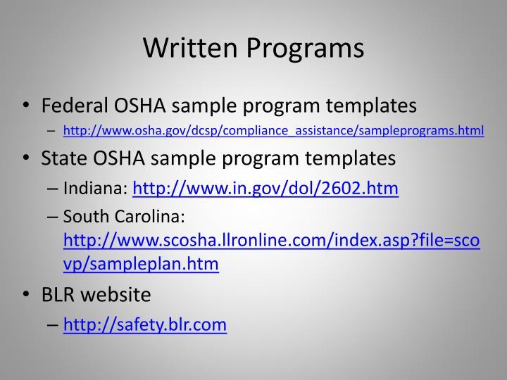 Great Sample Hazard Communication Program Template Pictures - Osha hazard communication program template