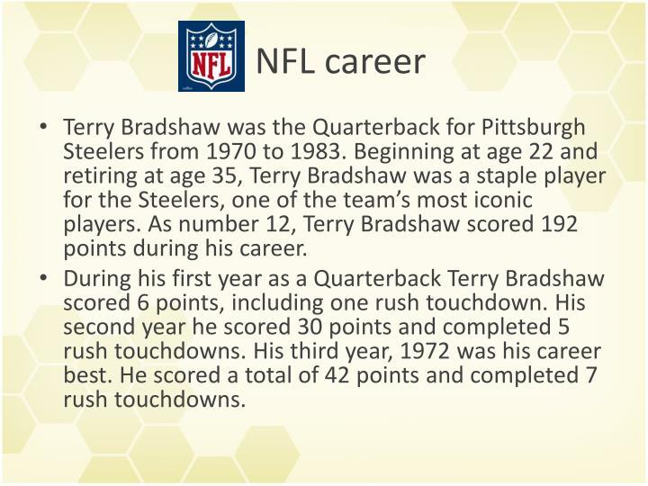 NFL career