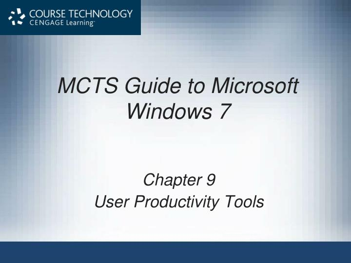 mcts guide to microsoft windows 7 n.