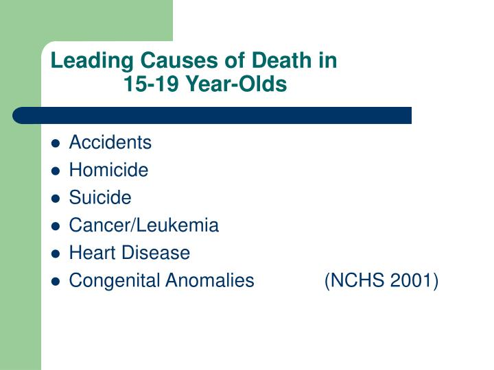 Leading Causes of Death in