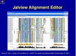 jalview alignment editor