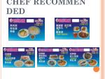 chef recommended