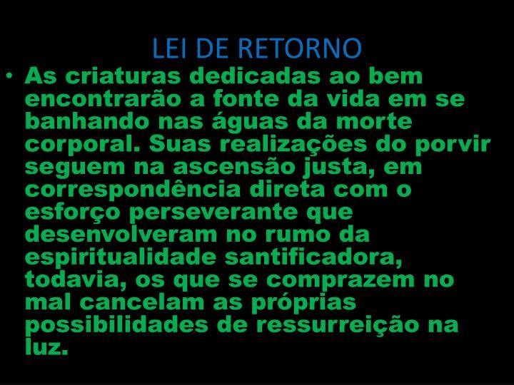 Lei de retorno2