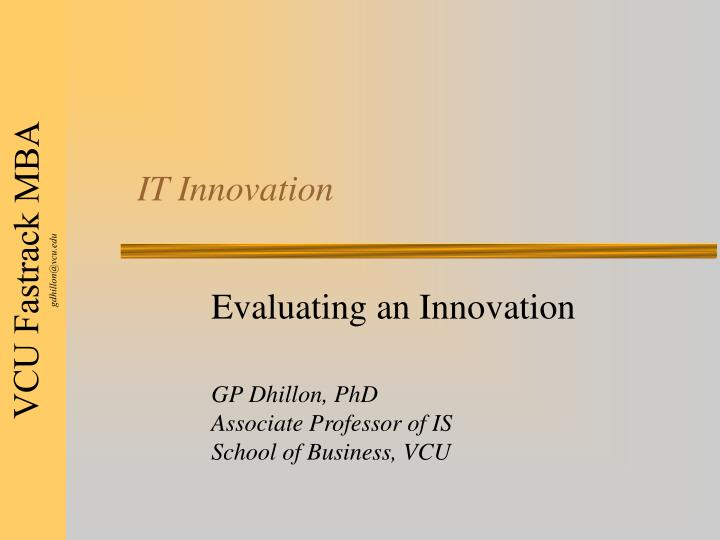it innovation n.