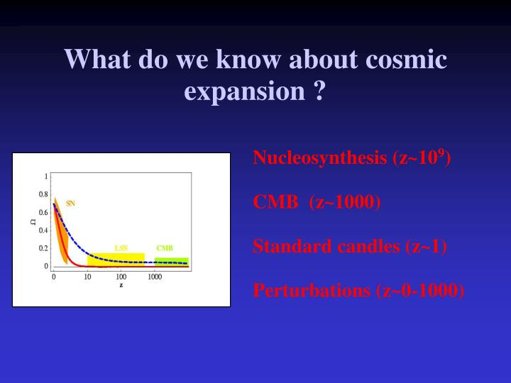 What do we know about cosmic expansion
