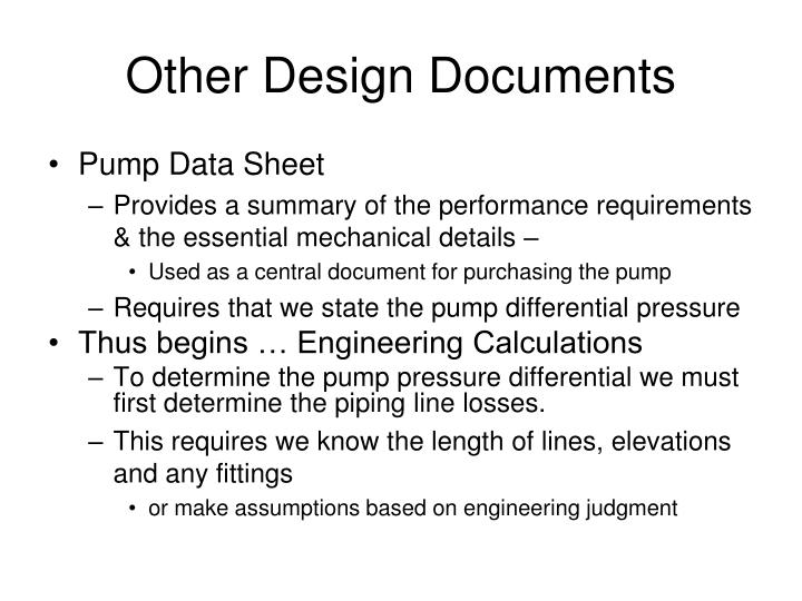 Other Design Documents