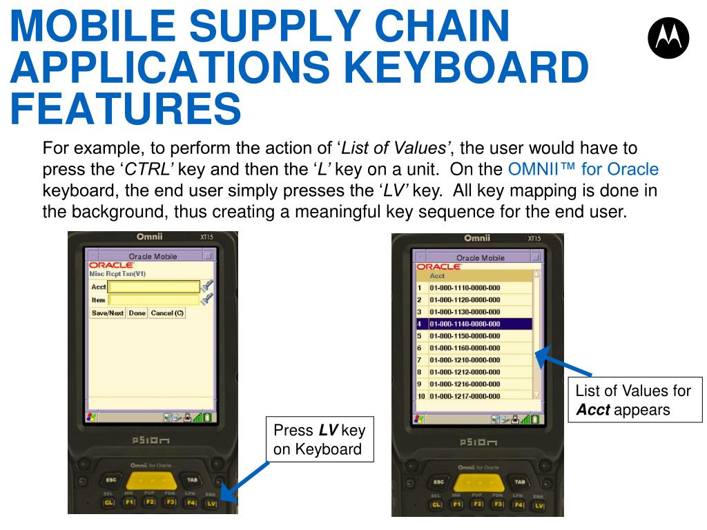 PPT - HOW TO SELL THE OMNII™ FOR ORACLE KEYBOARD PowerPoint