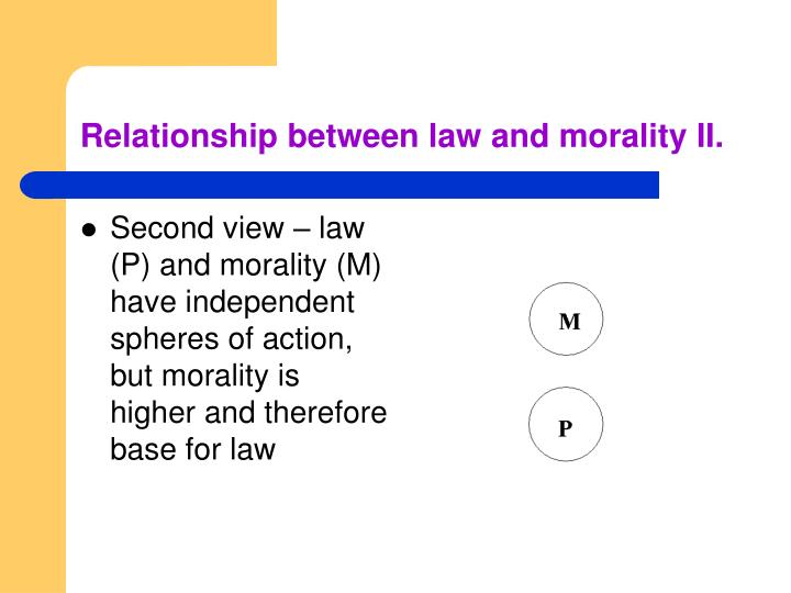 connections between law and morality philosophy essay (a paper discussed at the alraesa annual conference, imperial resort beach   law and public morality do regulate the relationship between.