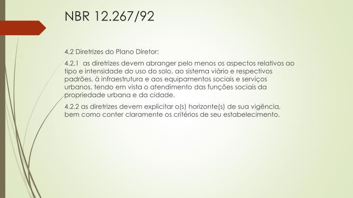 NBR 12.267/92