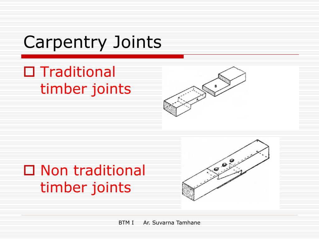 Ppt Carpentry Joints Powerpoint Presentation Id 6395929