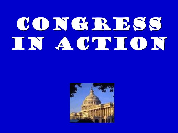 congress in action n.