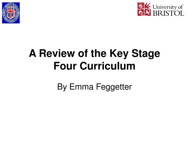 a review of the key stage four curriculum n.