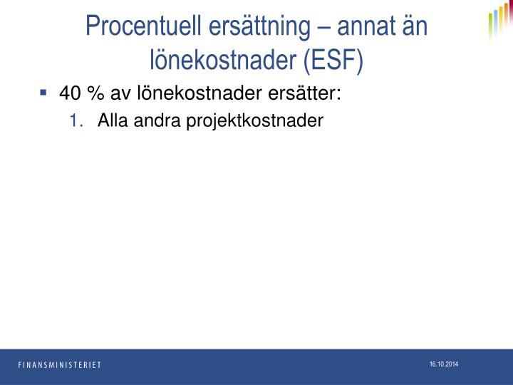 Procentuell