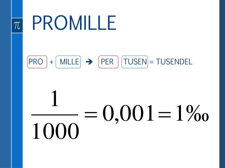 PROMILLE