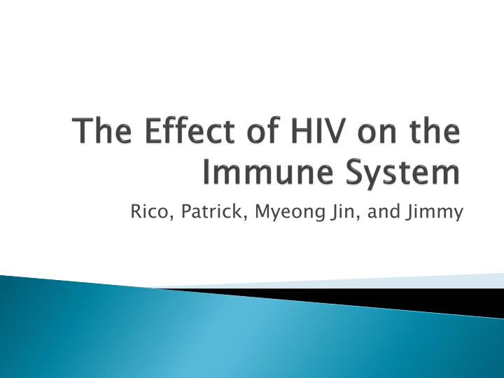 an introduction to the effects of hiv mutations on the immune system The immune system the immune system is a system within all vertebrates (animals with a backbone) which in general terms, is comprised of two important cell types: the b-cell and the t-cell.