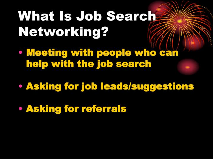 what are job leads