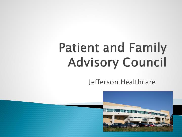 patient and family advisory council n.