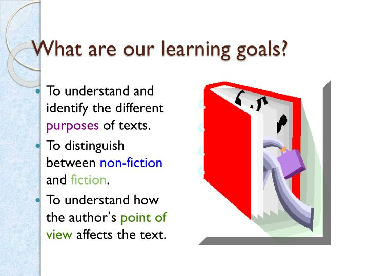 What are our learning goals?