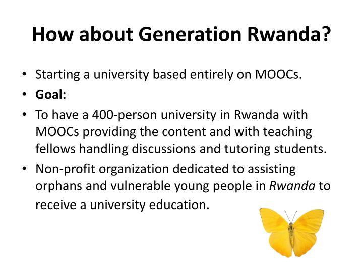 How about Generation Rwanda?