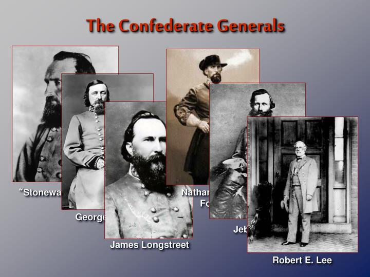 The Confederate Generals