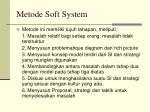 metode soft system