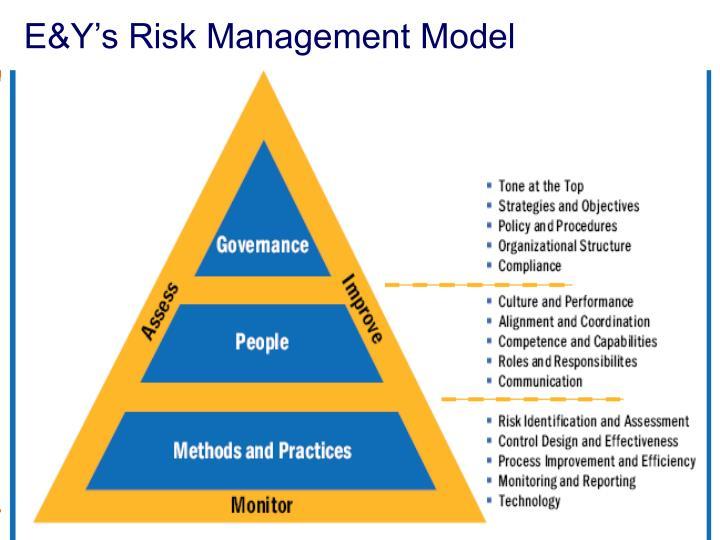 E&Y's Risk Management Model