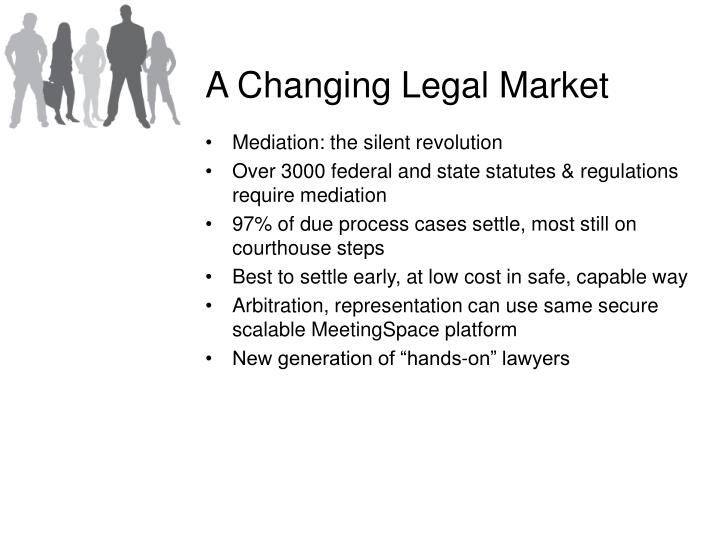 A Changing Legal Market