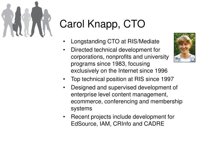 Carol Knapp, CTO