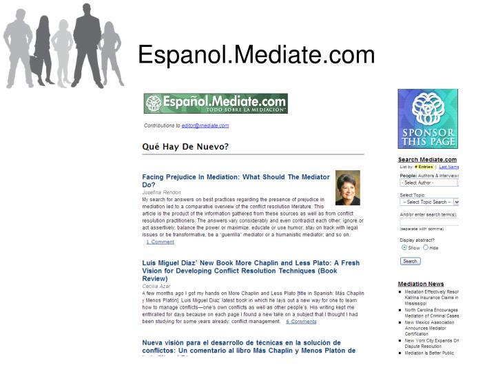 Espanol.Mediate.com