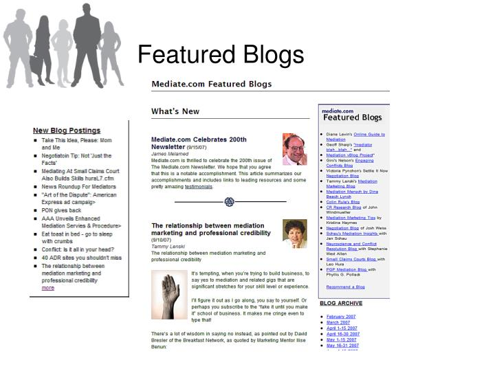 Featured Blogs