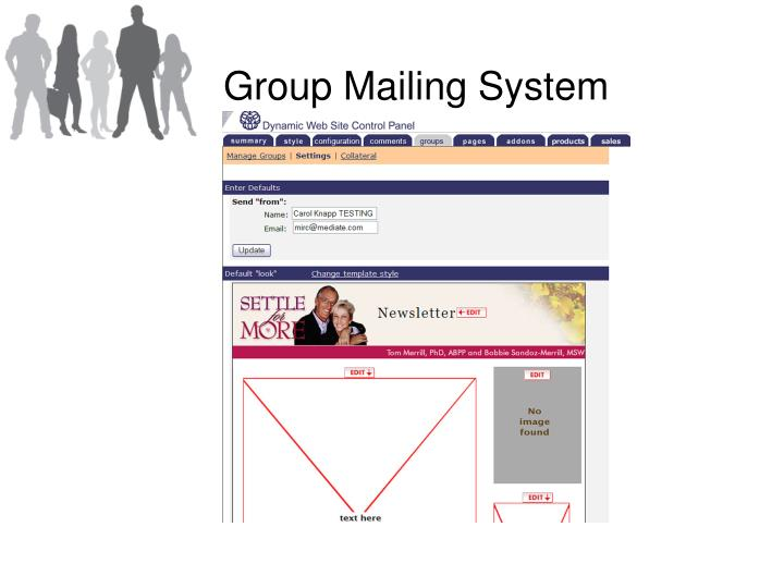 Group Mailing System