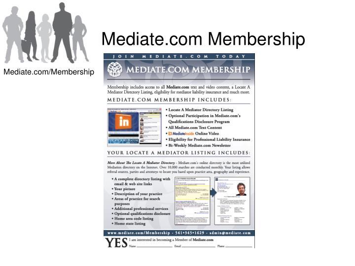 Mediate.com Membership