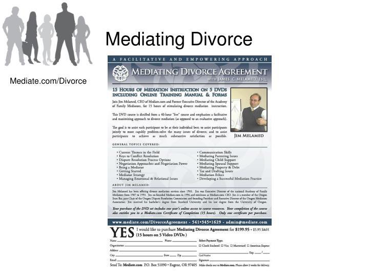 Mediating Divorce