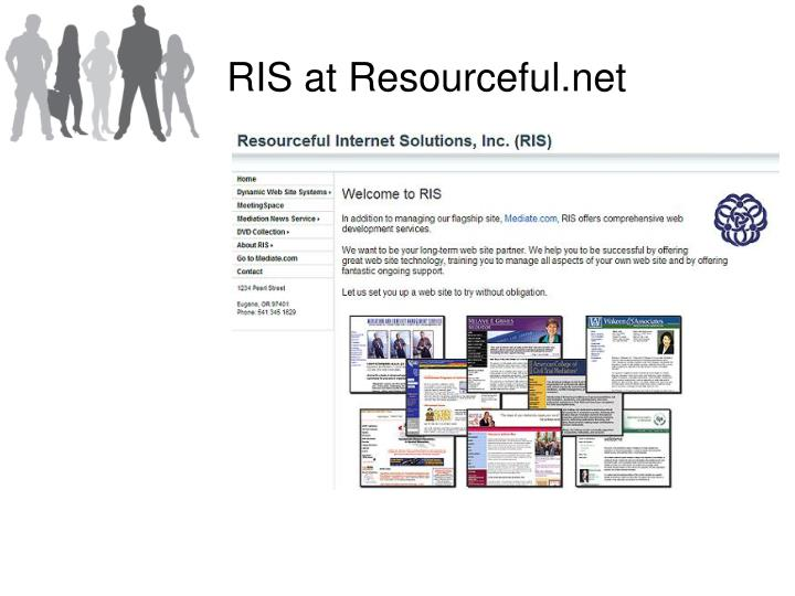 RIS at Resourceful.net