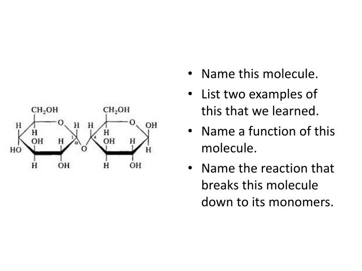 Name this molecule.