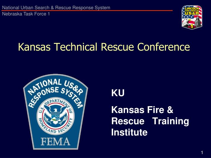 kansas technical rescue conference n.